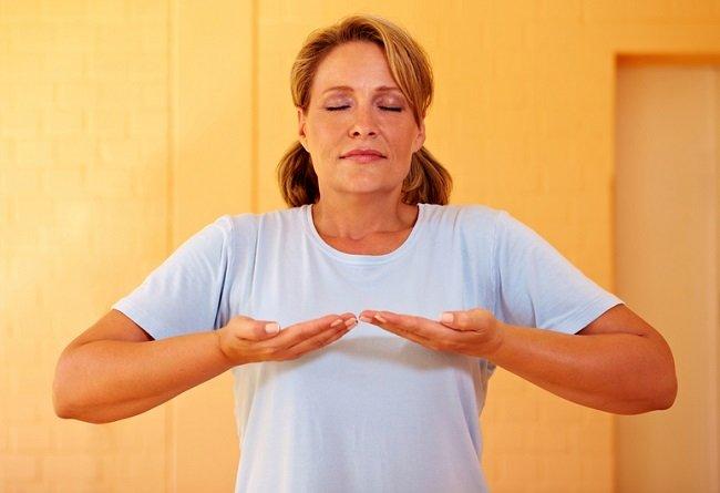 técnica de respiración controlada