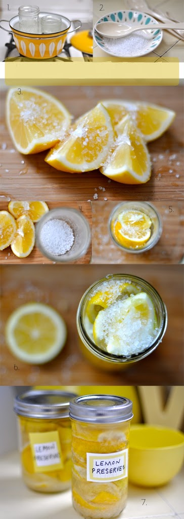 preservar limones con sal