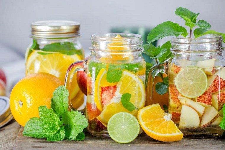 Agua Vitaminada Hecha En Casa
