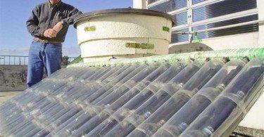 Calentador-Agua-Solar-Botellas-Plasticos
