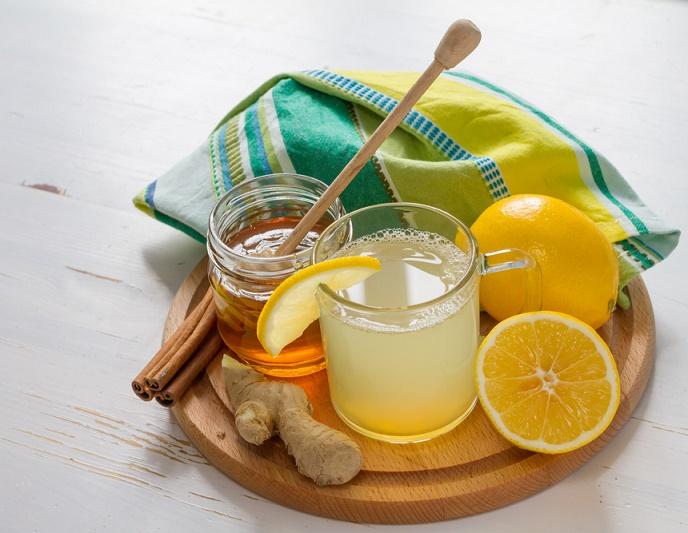 Tónico inmune Miel de abejas jengibre limón