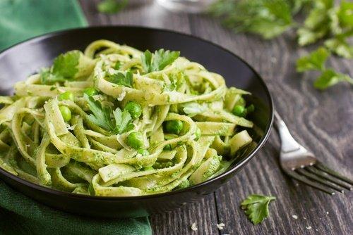 Pesto con pasta