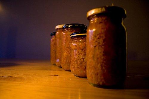 Frascos para la conservación de alimentos