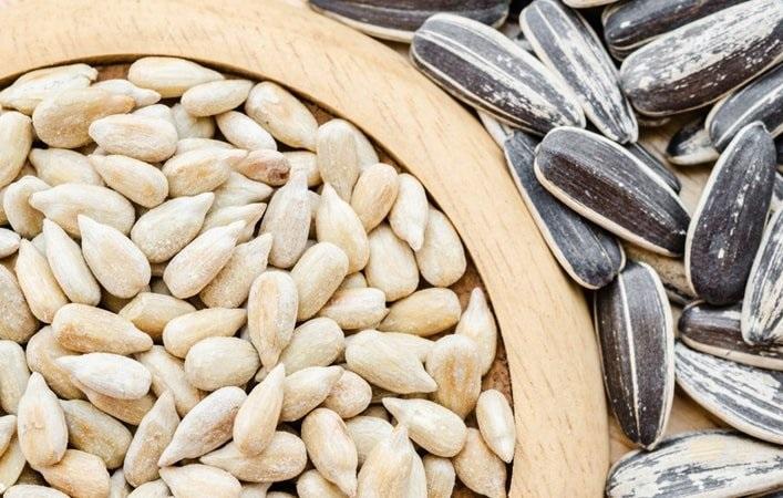 dieta con semillas de girasol