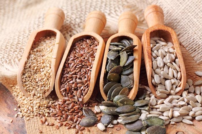 dieta con semillas