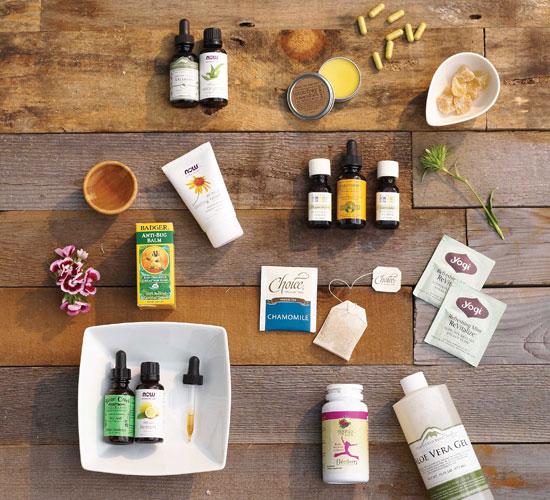 productos naturales para llevar en el botiquín de primeros auxilios