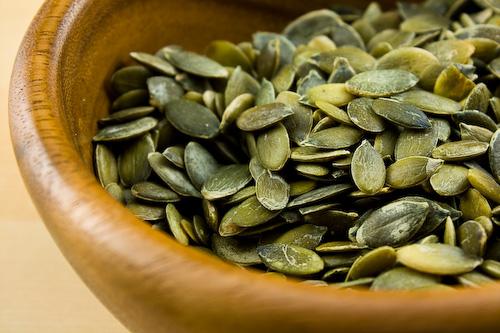 cascara de semilla de calabaza