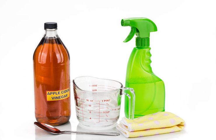 usos para el vinagre en la limpieza
