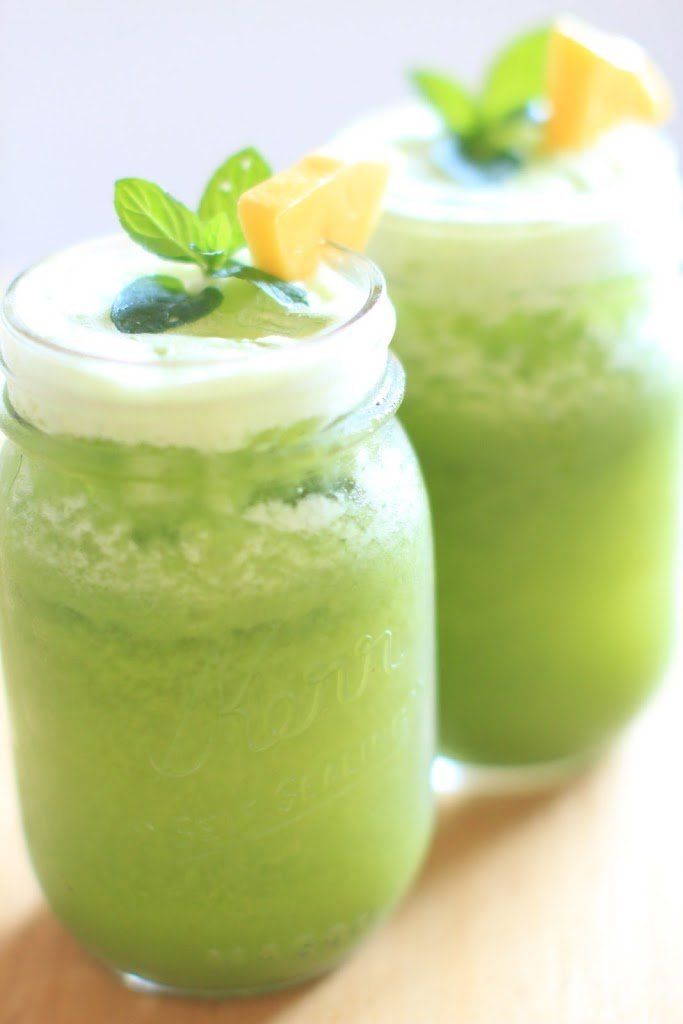 jugo verde para comenzar el día