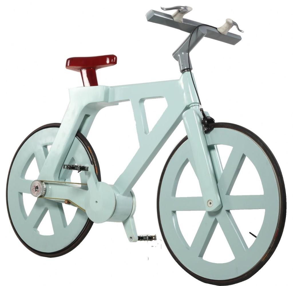 Bicicletas de cartón reciclado - Revolucionarios diseños.