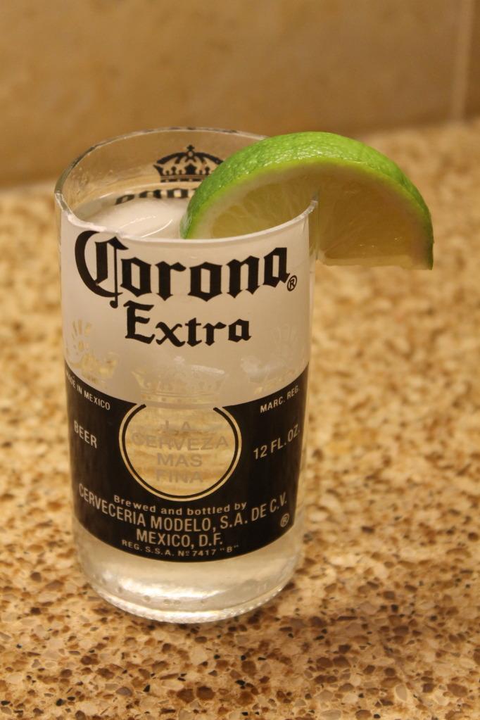 C mo hacer vasos re utilizando botellas de vidrio de cerveza for How to cut a beer bottle at home