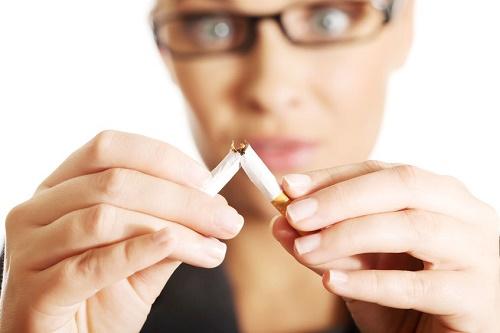 Mal olor corporal cigarro