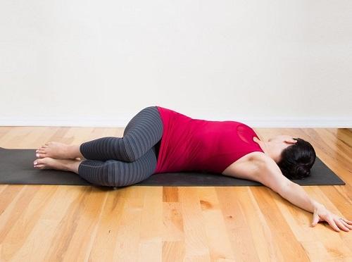 Giro espinal descansando