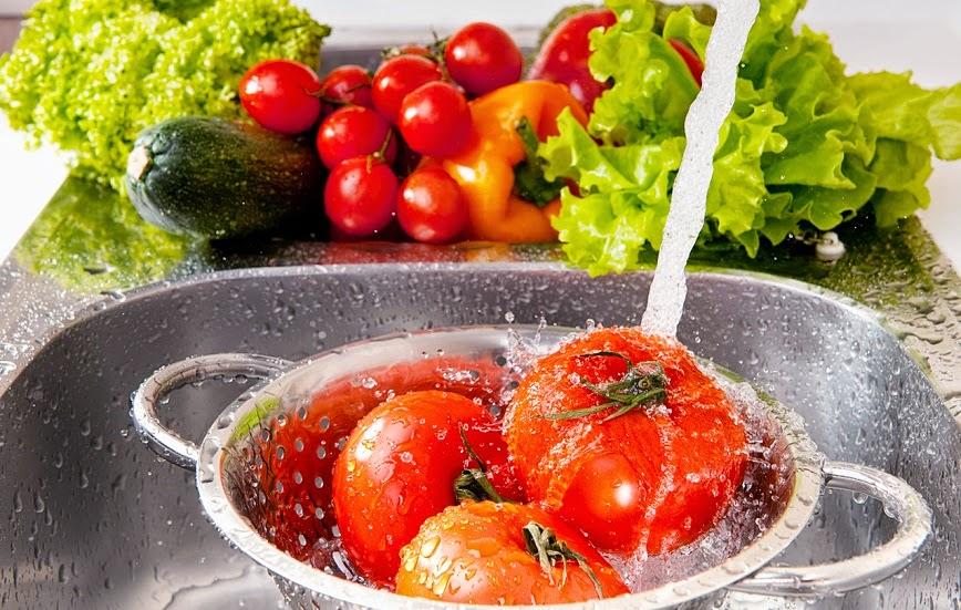 Cómo desinfectar naturalmente Frutas y Hortalizas