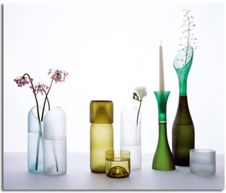 Dise os con botellas de vidrio recicladas for Ideas para reciclar botellas de vidrio