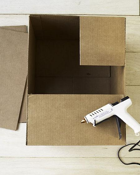 Construir casa de cart n para gatos paso a paso - Como hacer una casa de carton pequena ...