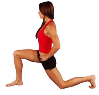 elongación para tener las rodillas en plena forma