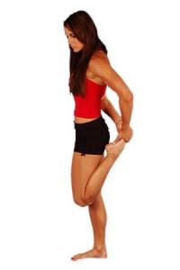 estiramiento para mantener las rodillas en forma
