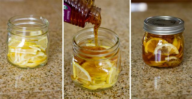 Jarabe de limón y miel VL