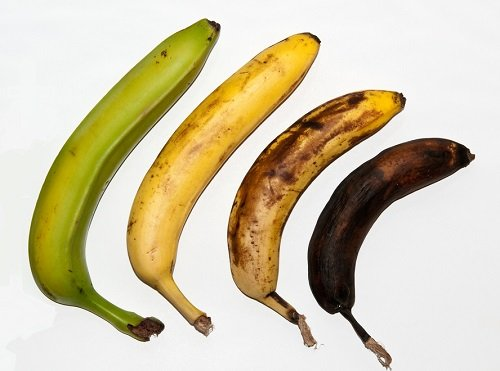 plátano maduro proceso
