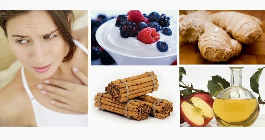 Remedios naturales para el reflujo ácido