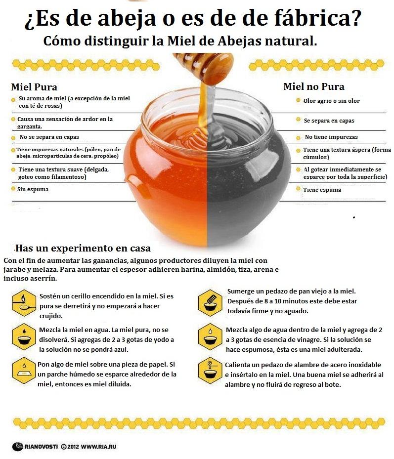 Propiedades de la miel de abejas
