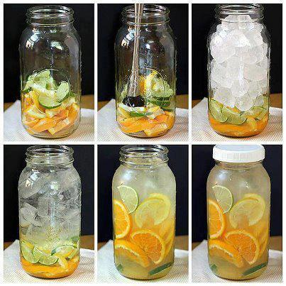 bebida de cítricos altamente refrescante