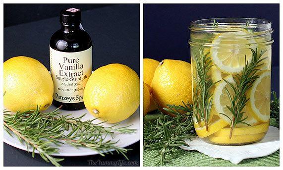 fragancias naturales de limón