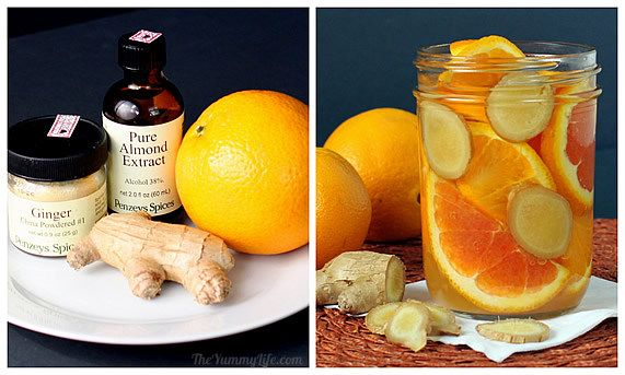 fragancias de naranja