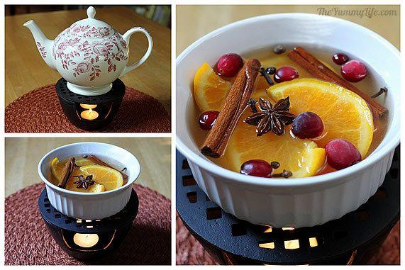 Método de calentamiento de té con vela