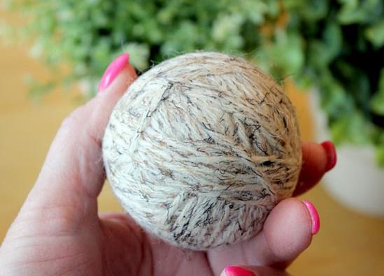 Bola de lana secadora