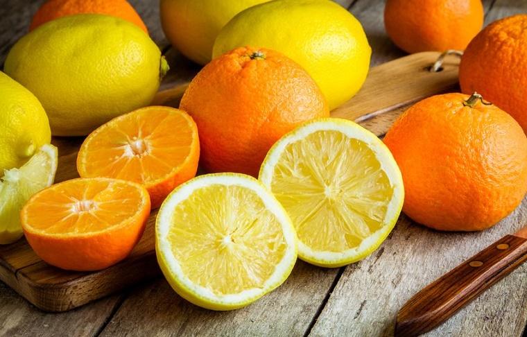 Cítricos toronja naranja limón