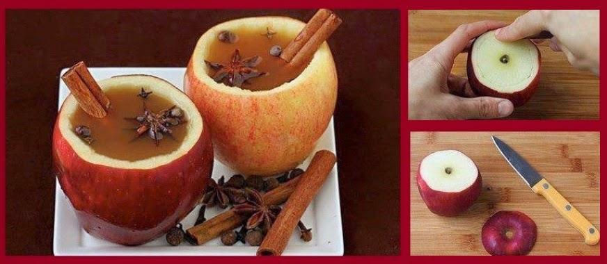 cómo preparar un té de manzana