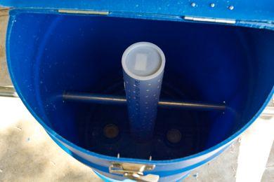 Incluyendo pvc en nuestra compostera