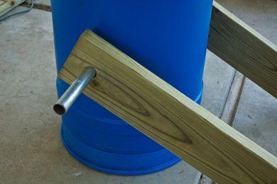 Agregando soporte para poder girar nuestra compostera