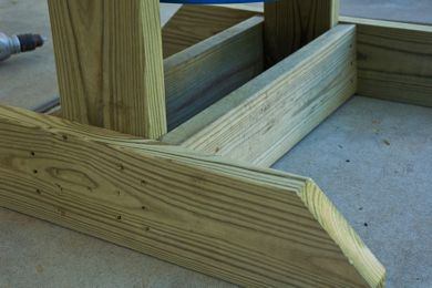 Las bases de madera