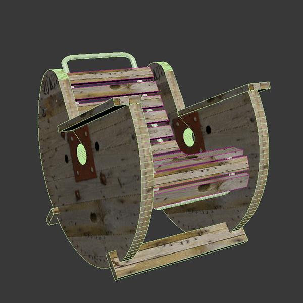 Reciclando carretes de madera para hacer asientos y mesas.   vida ...