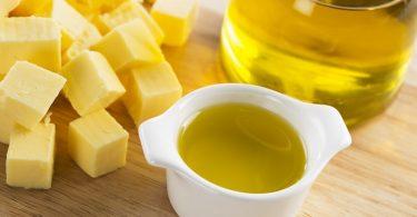 aceites grasas mantequilla