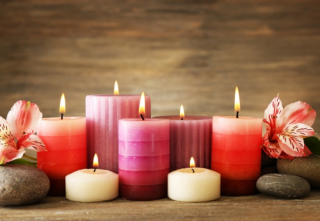 como hacer que las velas duren más tiempo