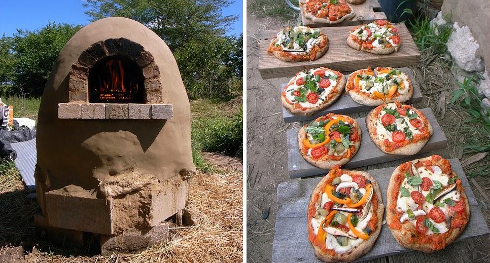 Construye tu propio horno de barro para pan y pizza for Como construir un horno