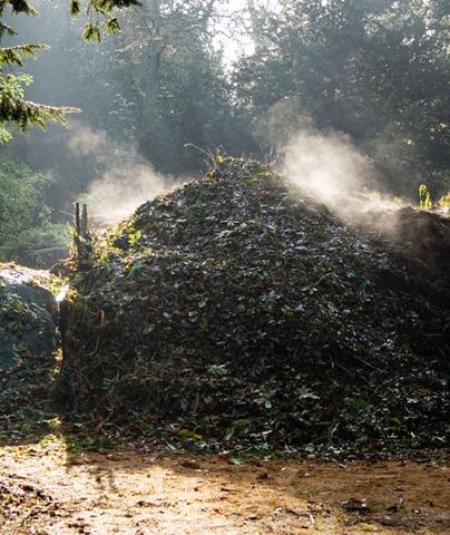 material para elaborar compostaje