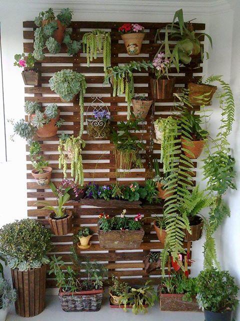 jardín vertical para balcones