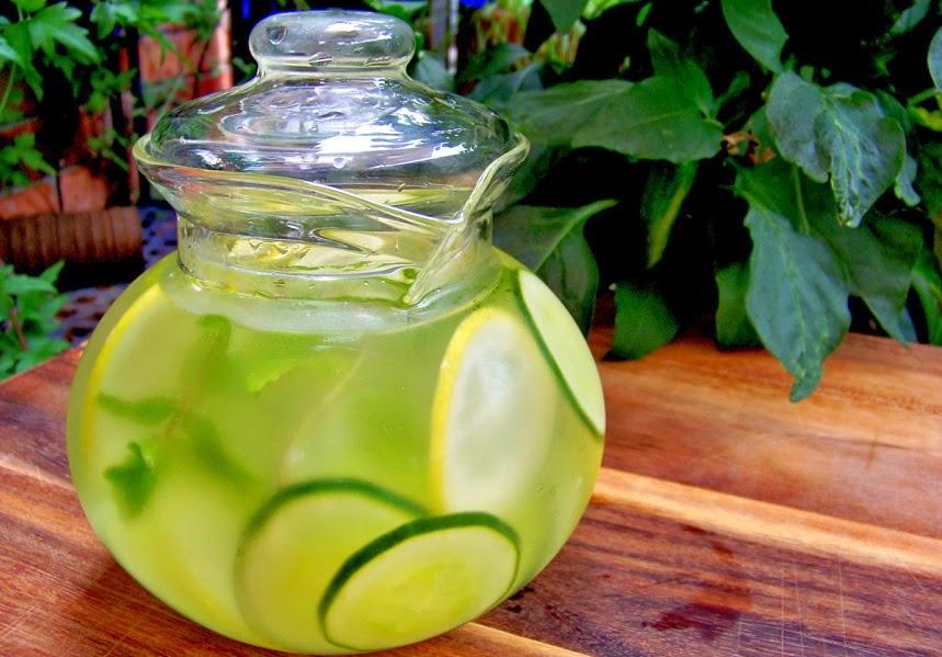Dieta con agua de pepino