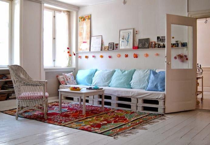 ideas de muebles diversos para el hogar hechos con con pallet