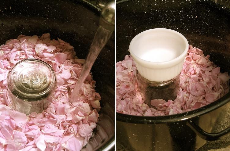 Cómo hacer agua de rosas para cosmética natural2