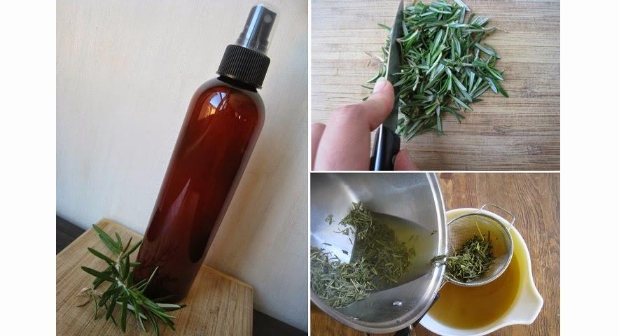 Acondicionador herbal con vinagre para el pelo