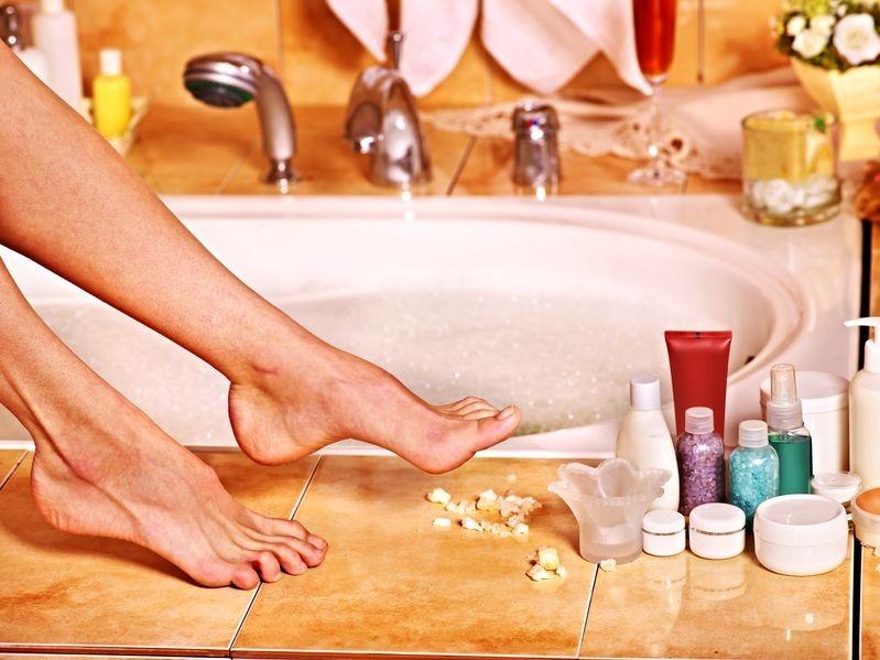 receta para un baño desintoxicante - Banos De Tina Con Bicarbonato De Sodio