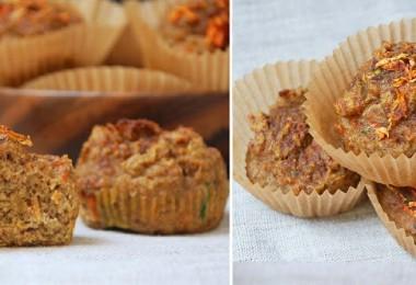 Deliciosos-Muffins-con-harina-de-coco-zanahoria-calabaza-y-especias