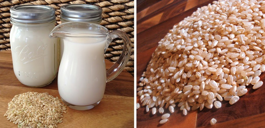 Haz tu propia leche de arroz o substituto de leche de vaca