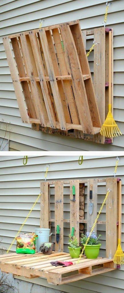 50 ideas de muebles para tu hogar hechas con pallet reciclado - Muebles hechos con estibas ...